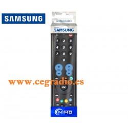 MAN3055 MANDO DE SUSTITUCION DIRECTA SIMPLIFICADO PARA TVS SAMSUNG Vista Blister