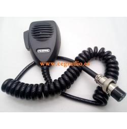 Jetfon DNC-502 Microfono 6 pins Conexion President Vista General