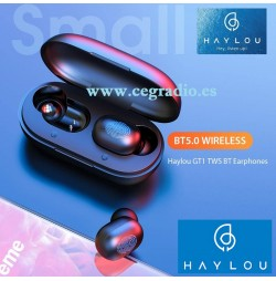GT1 TWS Auriculares Tactiles Inalambricos Estereo Bluetooth 5.0 DSP Vista General