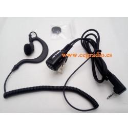 Micro Auricular Motorola Jetfon BR-1708E/C Vista General