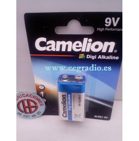 Pila CAMELION Digi Alkaline 6LR61 9V Vista Blister