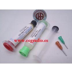 2 Unidades 10 ml Pasta Flux RMA-223 Para Reparación De Soldadura BGA PCB SMT Vista General