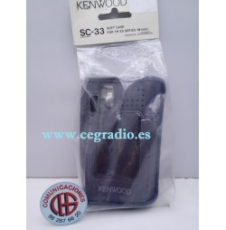 KENWOOD SC-33 Funda Original Walkie TH-28 TH-48 Vista Blister