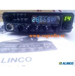 ALINCO DX10 Emisora 10m Todo Modo AM FM CW USB LSB 25W Vista Frontal