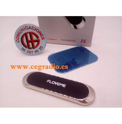 FLOVEME Soporte Universal Magnetico Coche Para Telefono iPhone Samsung Huawei Vista Superior