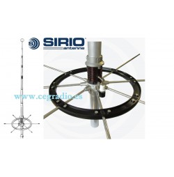 SIRIO BLIZZARD 2700 EVOLUCION 827 ANTENA BASE CB 27Mhz 5/8 Vista General