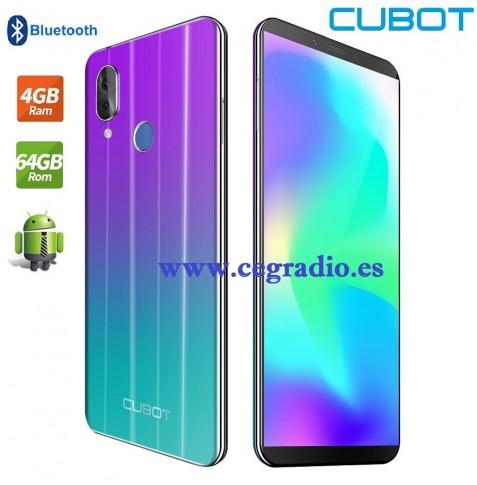 "Cubot X19 Smartphone RAM 4GB ROM 64GB Octa Core 5,93""FHD 4000mAh Vista General"