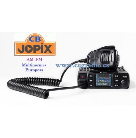 JOPIX ULISES Emisora CB 27 Mhz AM FM Multinorma Vista General