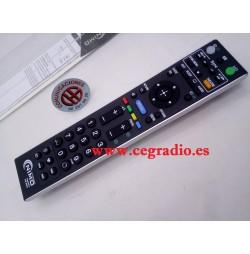MAN3074 TELEMANDO UNIVERSAL PARA TV SONY Vista Completa