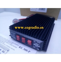 RM KL300P Amplificador CB 27Mhz NEW Vista Frontal