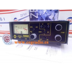ZETAGI TM999 Medidor ROE Vatimetro Acoplador CB 27Mhz Vista Frontal