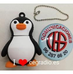 Memoria USB Pingüino 32GB vista delante