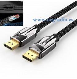 Vention DisplayPort 1.4 Cable Alta Velocidad 32.4Gbps 8K 60Hz UHD Vista General