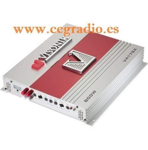 VISONIK V417SX Amplificador Coche
