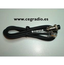 Kenwood Cable AV-24K Para Microfono PRYME PMC-100 AV-508