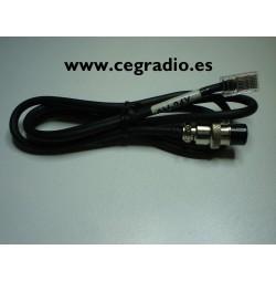 YAESU Cable AV-24Y Para Microfono PRYME PMC-100 AV-508