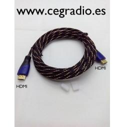 3m Cable HDMI V1.4 Macho a Macho Vista General