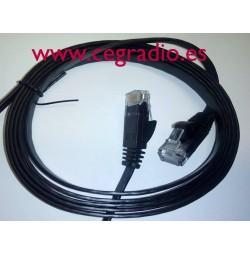 Red Ethernet Lan CAT 6 / 1,8 m
