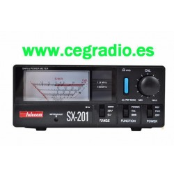 Telecom SX-201 Medidor ROE Potencia CB HF VHF