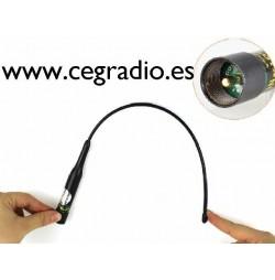 Nagoya NL-R2 Antena Movil Bibanda VHF UHF Vista Flexionada