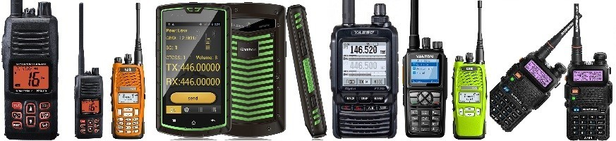 Walkies VHF-UHF