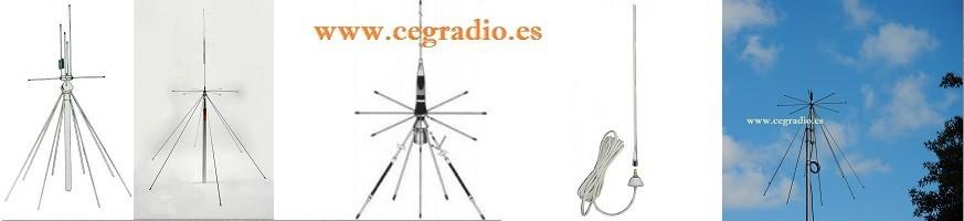 Antenas Base Escáner