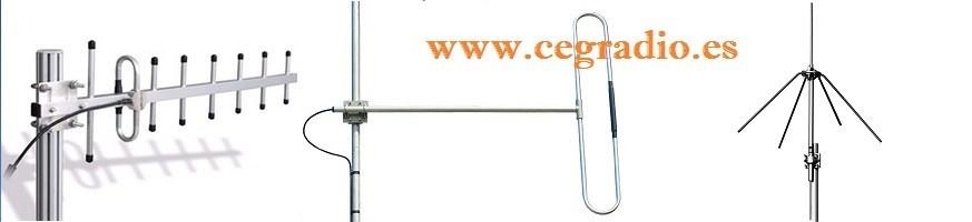 Antenas Base FM-GSM