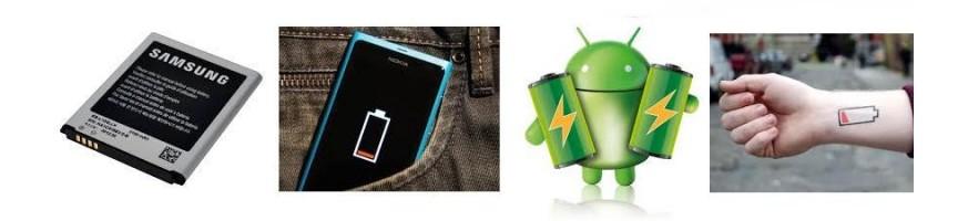 Baterías Teléfonos
